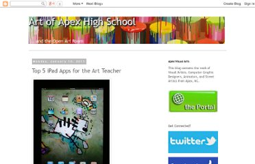 http://apexhsart.blogspot.com/2011/01/top-5-ipad-apps-for-art-teacher.html