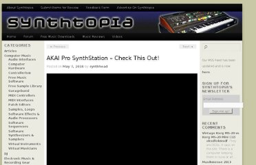 http://www.synthtopia.com/content/2010/05/07/akai-pro-synthstation-check-this-out/