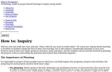 http://www.youthlearn.org/learning/planning/lesson-planning/how-inquiry/how-inquiry