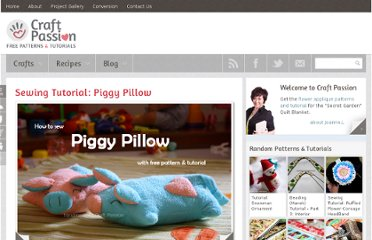 http://www.craftpassion.com/2010/02/sewing-tutorial-piggy-pillow.html