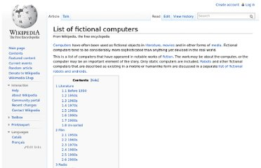 http://en.wikipedia.org/wiki/List_of_fictional_computers