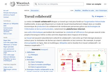 https://fr.wikipedia.org/wiki/Travail_collaboratif