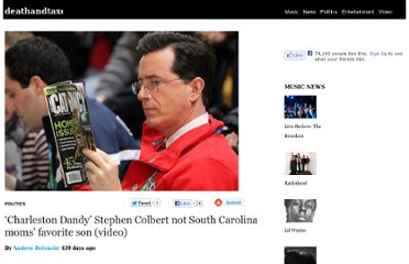 http://www.deathandtaxesmag.com/174661/charleston-dandy-stephen-colbert-not-south-carolina-moms-favorite-son-video/