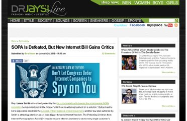 http://live.drjays.com/index.php/2012/01/20/sopa-is-defeated-but-new-internet-bill-gains-critics/