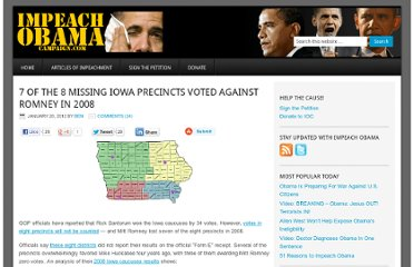 http://www.impeachobamacampaign.com/7-of-the-8-missing-iowa-precincts-voted-against-romney-in-2008/