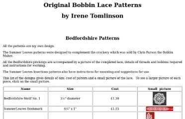 http://www.shireburnlace.co.uk/bedfordshire%20patterns.htm