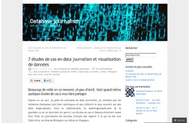 http://databasejournalism.wordpress.com/2010/02/21/7-etudes-de-cas-en-data-journalism-et-visualisation-de-donnees/