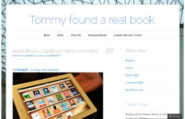 http://tommyfoundarealbook.wordpress.com/2012/01/22/apple-ibooks-2-textbook-hands-on-video/