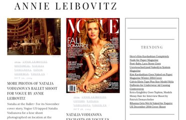 http://fashiongonerogue.com/photographer/annie-leibovitz/