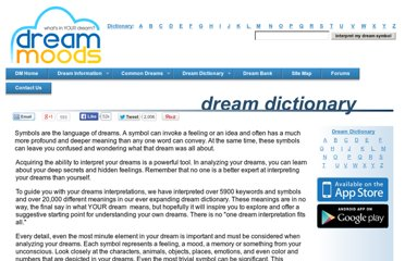 http://www.dreammoods.com/dreamdictionary/