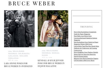 http://fashiongonerogue.com/photographer/bruce-weber/