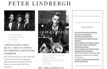 http://fashiongonerogue.com/photographer/peter-lindbergh/