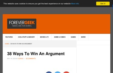 http://www.forevergeek.com/2005/05/38_ways_to_win_an_argument/