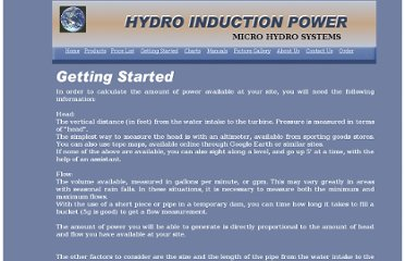 http://www.homehydro.com/getting_started.html
