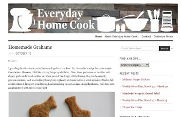 http://www.everydayhomecook.com/2011/10/homemade-grahams/