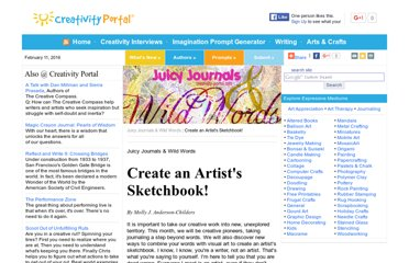 http://www.creativity-portal.com/bc/molly.childers/juicy-journals/create-artists-sketchbook.html