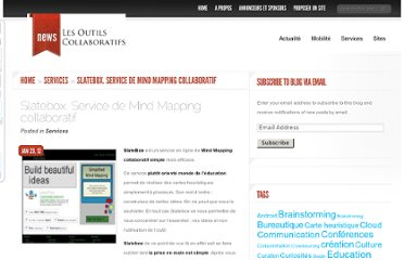 http://outilscollaboratifs.com/2012/01/slatebox-service-de-mind-mapping-collaboratif/