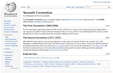 http://en.wikipedia.org/wiki/Yaound%C3%A9_Convention