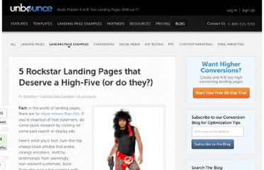 http://unbounce.com/landing-page-examples/rockstar-landing-pages-that-deserve-a-high-five-or-do-they/