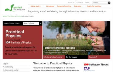 http://www.nuffieldfoundation.org/practical-physics