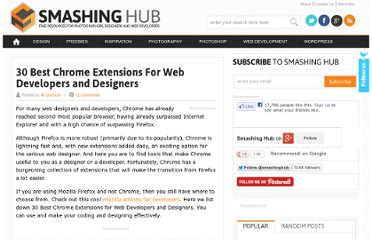 http://smashinghub.com/best-chrome-extensions.htm