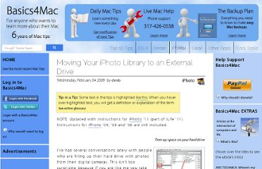 http://basics4mac.com/article.php/move_iphoto_lib