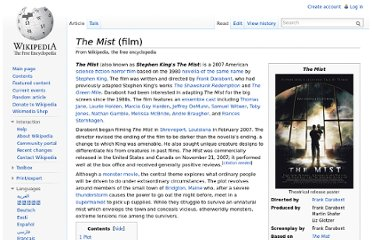 http://en.wikipedia.org/wiki/The_Mist_(film)