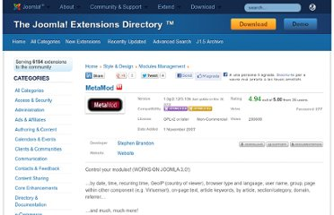 http://extensions.joomla.org/extensions/style-a-design/modules-management/3391
