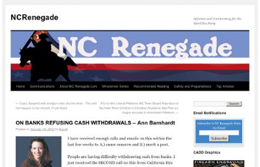 http://ncrenegade.com/editorial/on-banks-refusing-cash-withdrawals-ann-barnhardt/