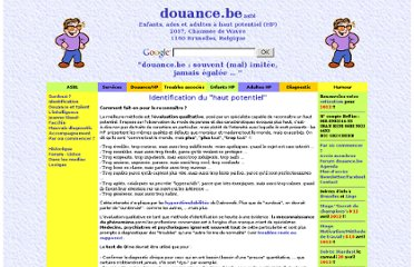 http://www.douance.be/douance-hp-identification.htm