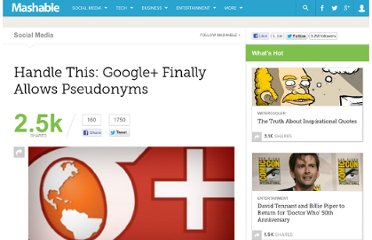 http://mashable.com/2012/01/23/google-plus-allows-pseudonyms-nicknames/
