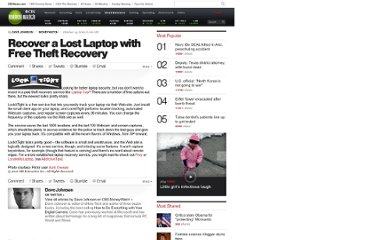 http://www.cbsnews.com/8301-505143_162-28649206/recover-a-lost-laptop-with-free-theft-recovery/