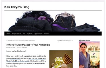 http://keligwyn.wordpress.com/2011/06/01/improving-your-author-bio/