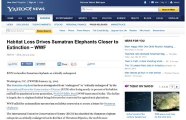 http://news.yahoo.com/habitat-loss-drives-sumatran-elephants-closer-extinction-wwf-000820938.html