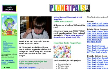 http://www.planetpals.com/craft-non-toxic-craft-supply-recipes.html