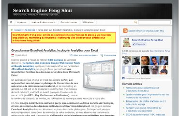 http://www.search-engine-feng-shui.com/2010/02/gros-plan-sur-excellent-analytics-le-plug-in-analytics-pour-excel/