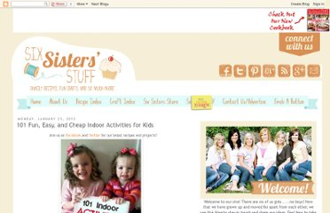 http://www.sixsistersstuff.com/2012/01/101-fun-easy-and-cheap-indoor-activites.html