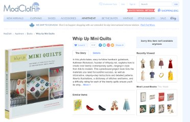 http://www.modcloth.com/shop/books/whip-up-mini-quilts