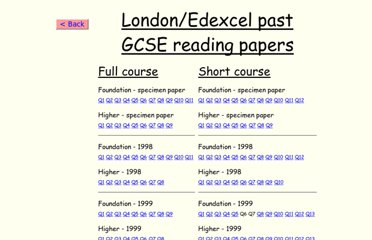 http://www.wildfrench.co.uk/GCSEPapers/paperslist.htm