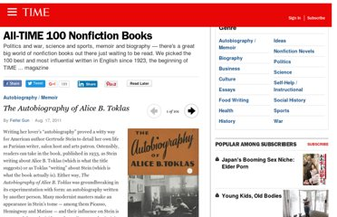 http://entertainment.time.com/2011/08/30/all-time-100-best-nonfiction-books/