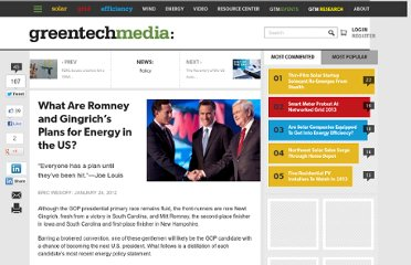 http://www.greentechmedia.com/articles/read/What-Are-the-Romney-and-Gingrich-Plans-For-Energy-in-the-U.S/