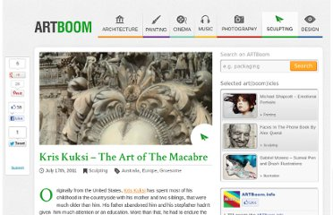 http://artboom.info/sculpting/kris-kuksi-the-art-of-the-macabre.html