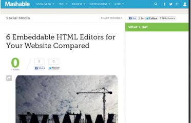 http://mashable.com/2008/11/03/embeddable-html-editors/