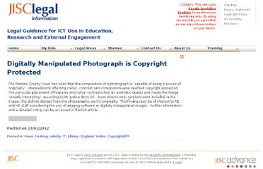 http://www.jisclegal.ac.uk/ManageContent/ViewDetail/ID/2305/Digitally-Manipulated-Photograph-is-Copyright-Protected.aspx