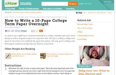 http://www.ehow.com/how_2067724_write-tenpage-college-term-paper.html