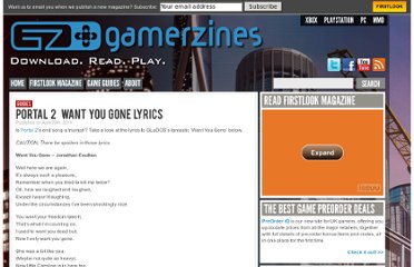 http://www.gamerzines.com/guides/portal-2/portal-2-lyrics/