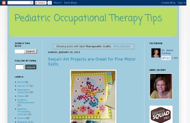http://drzachryspedsottips.blogspot.com/search/label/Therapeutic%20Crafts