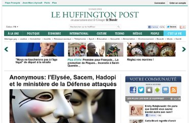 http://www.huffingtonpost.fr/2012/01/23/anonymous-elysee-defense-ministere-piratage_n_1223079.html