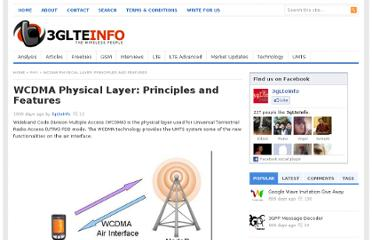 http://www.3glteinfo.com/wcdma-physical-layer-principles-and-features-20090819/