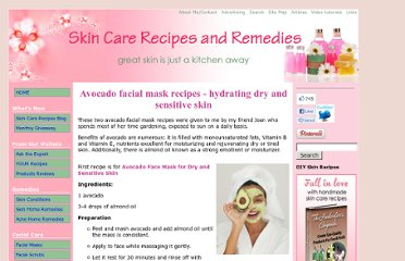http://www.skin-care-recipes-and-remedies.com/avocado-facial-mask-recipes.html